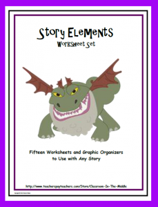 Story Elements Worksheet Set