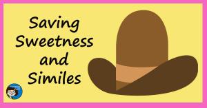 Saving Sweetness and Similes fb