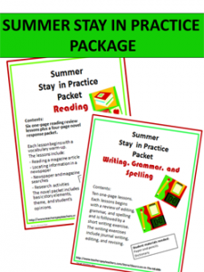 Summer Practice Package Cover