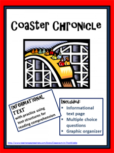 Coaster Chronicle Informational Text