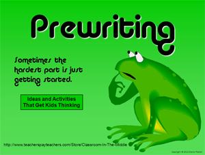 Prewriting ppt