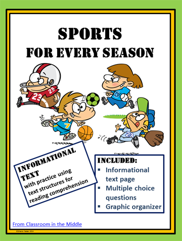 Sports in fo text - cover