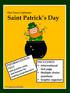 St Patrick's Day informational text