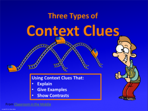 Context Clues Three Types ppt