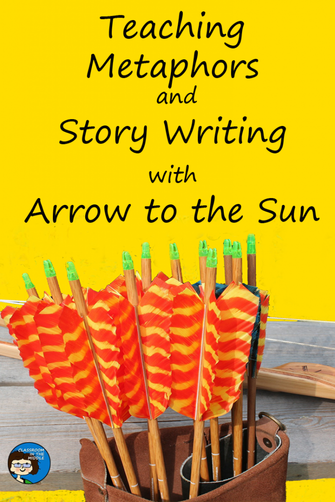 Teaching Metaphors and Story Writing with Arrow pin copy