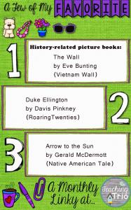 Three favorite history pic books