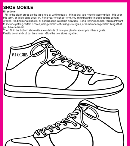 Best Foot Forward - shoe mobile student page