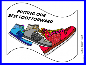 Shoe Mobile Topper, from Best Foot Forward, free from Classroom in the Middle