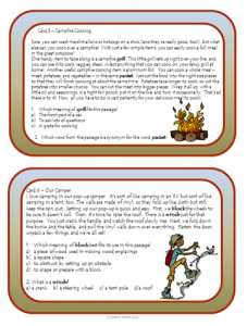 Context Clues task cards - slide 2