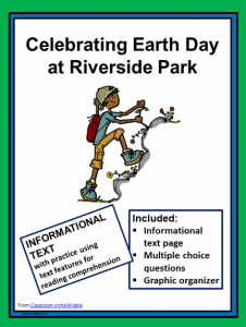 Earth Day Informational Text Activity