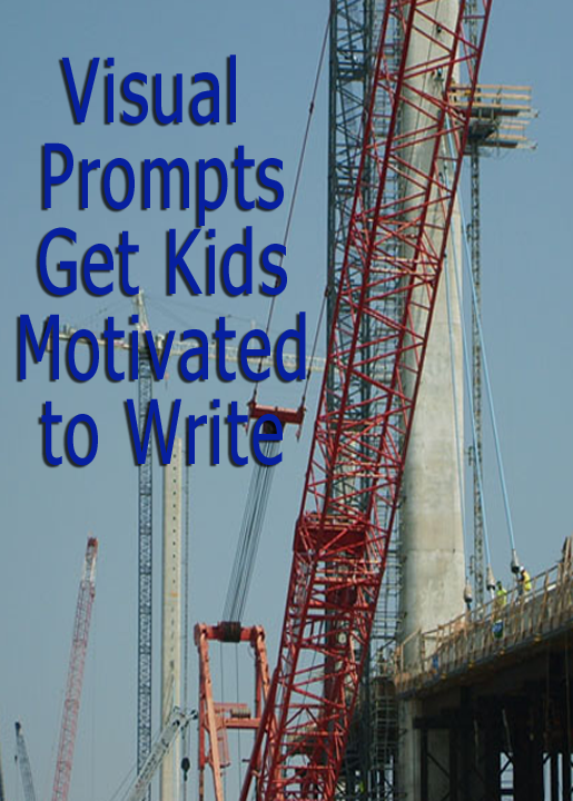 how to use visual prompts to get kids motivated to write one  writing prompts that are visual and motivate kids to write learn tips and ideas for