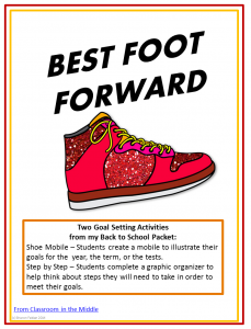 Best Foot Foot Forward - Free from Classroom in the Middle