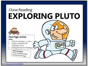 CLose Reading Pluto cover
