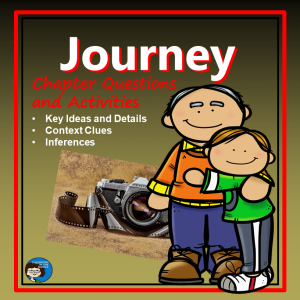 Journey Novel Study cover