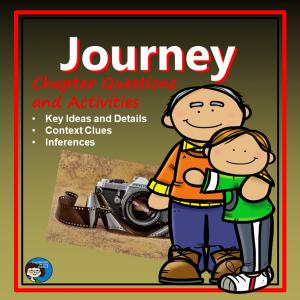Journey Novel Study cover