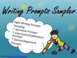 Writing Prompts Sampler