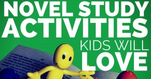 Novel study activities - suggestions for stations, group and partner activities, from Classroom in the Middle