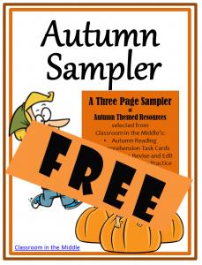 Autumn Sampler  FREE