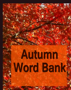 Autumn Word Bank