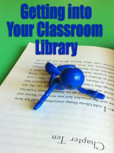 Getting into your Classroom Library