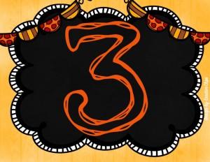 October Pick 3 Number 3