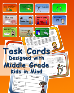 Task Cards for Middle Grades