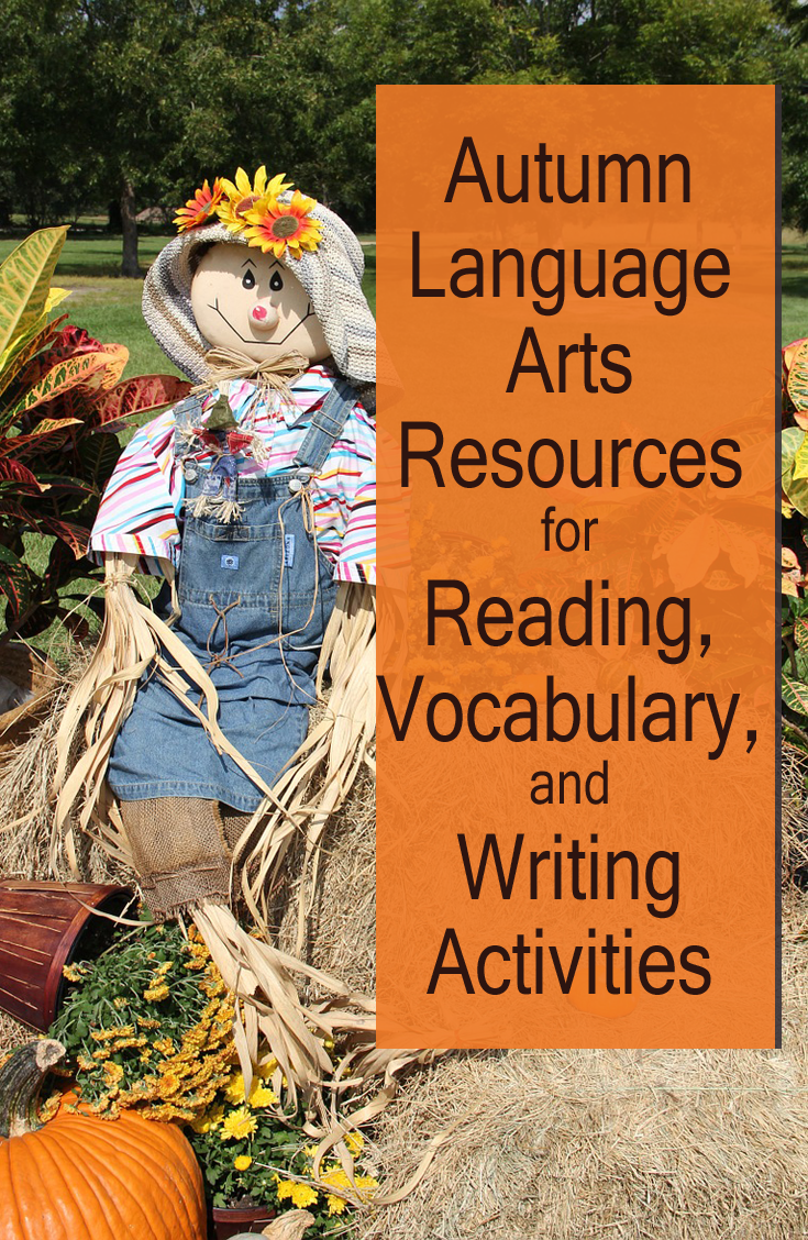 Autumn Language Arts Activities for Reading, Vocabulary, and Writing