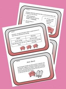 Idioms task cards slide3
