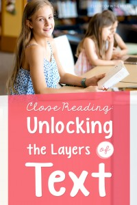 Unlocking the Layers of Text - guest post on Education to the Core