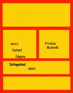 organization and vocabulary