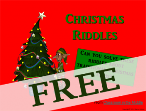 Christmas Riddles FREE