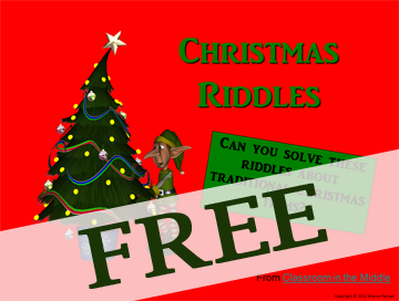 Free Christmas Riddles Activity