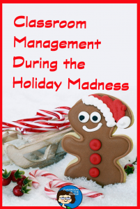 Classroom Management During Holidays