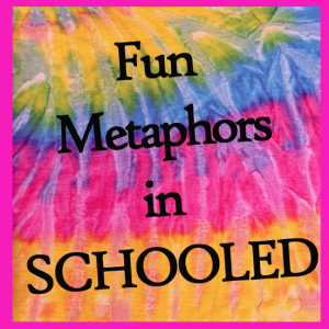 Fun Metaphors in the novel, SCHOOLED, with a FREE activity sheet, from Classroom in the Middle