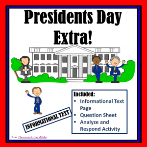 Informational Text - Presidents Day square cover