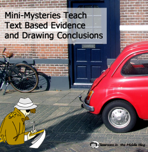 Mini Mysteries Teach Test Based pin