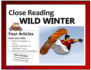 Close Reading- Wild Winter