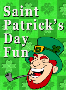 Saint Patrick's Day Fun - ideas for the classroom