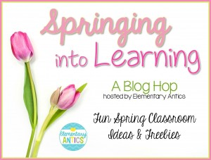 Spring Blog Hop Header