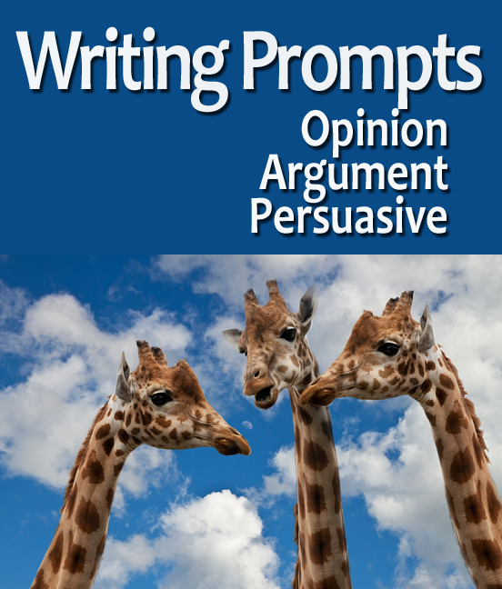 Argument essay prompts for middle school
