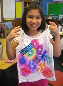 Tie Dye Keepsake T-shirt Project