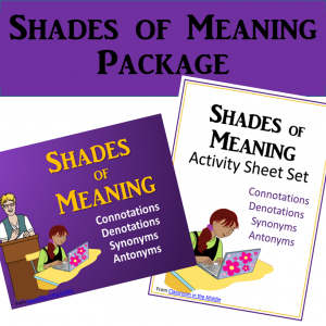 Shades of Meaning Package
