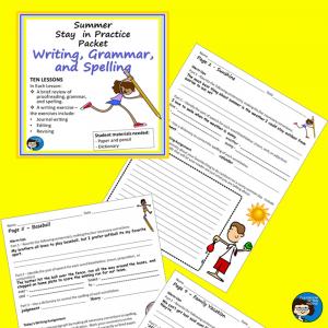 Summer Writing Packet sq