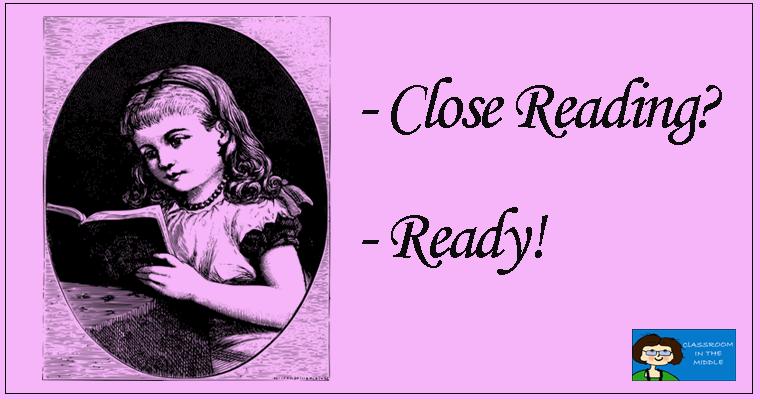 Close Reading - Ready!