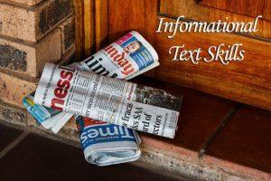 Informational Text Skills