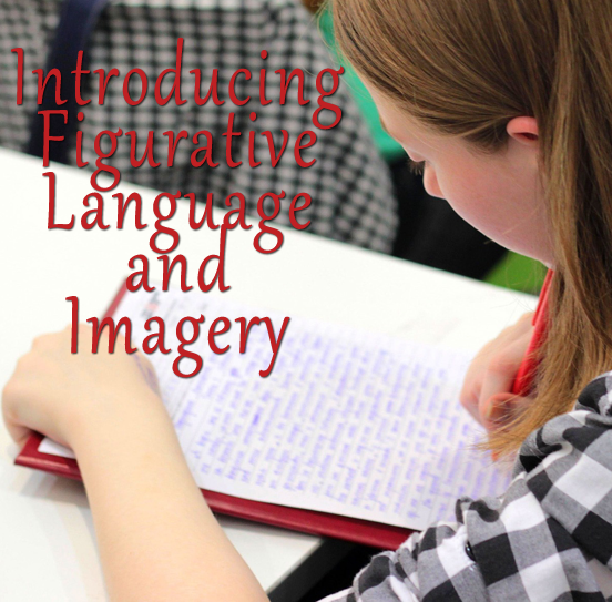 Introducing Figurative Language and Imagery pin