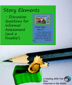 Story Elements Discussion Questions