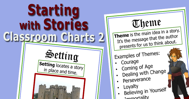 Starting with Stories - Classroom Charts 2