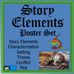 Story Elements Poster Set, FREE