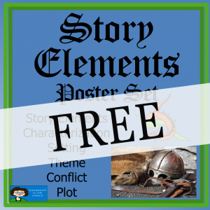 Story Elements Poster Set FREE